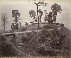 The Loop, Agony Point, Darjeeling [Hill Railway]